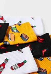 Bershka - 3 PACK - Socks - multi-coloured - 4