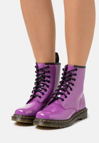 Dr. Martens - 1460 - Lace-up ankle boots - bright purple - 0