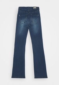 Name it - NKFPOLLY PANT - Jeans Bootcut - dark blue denim - 1