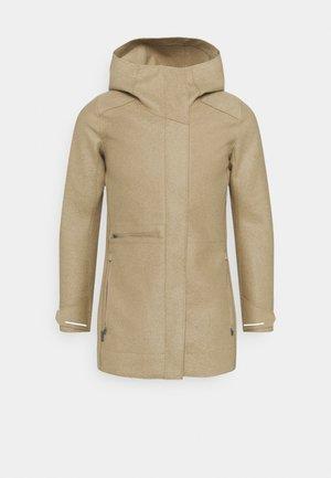 AINSWORTH HOODED JACKET - Short coat - sand