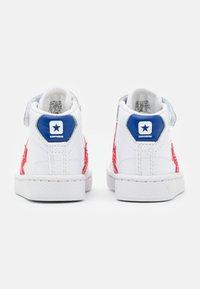 Converse - PRO BIRTH OF FLIGHT UNISEX - Sneakers hoog - white/rush blue/university red - 2