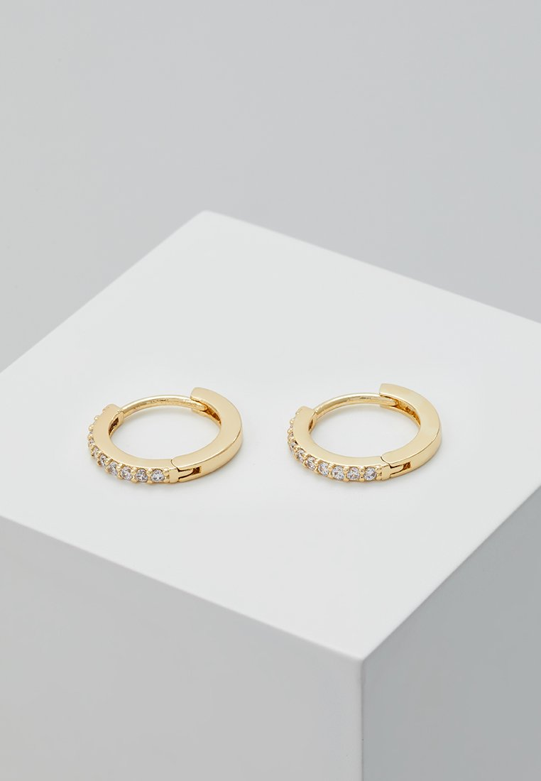 Orelia - HUGGIE HOOP - Earrings - gold-coloured