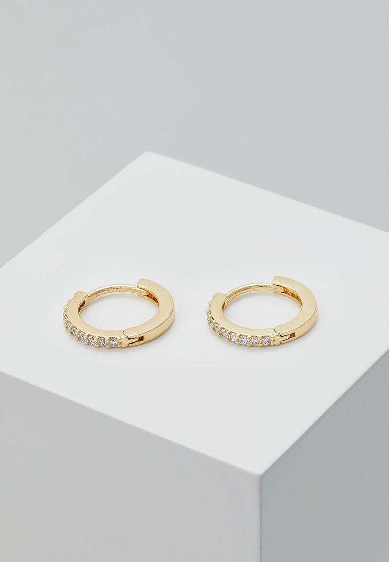 Orelia - HUGGIE HOOP - Ohrringe - gold-coloured