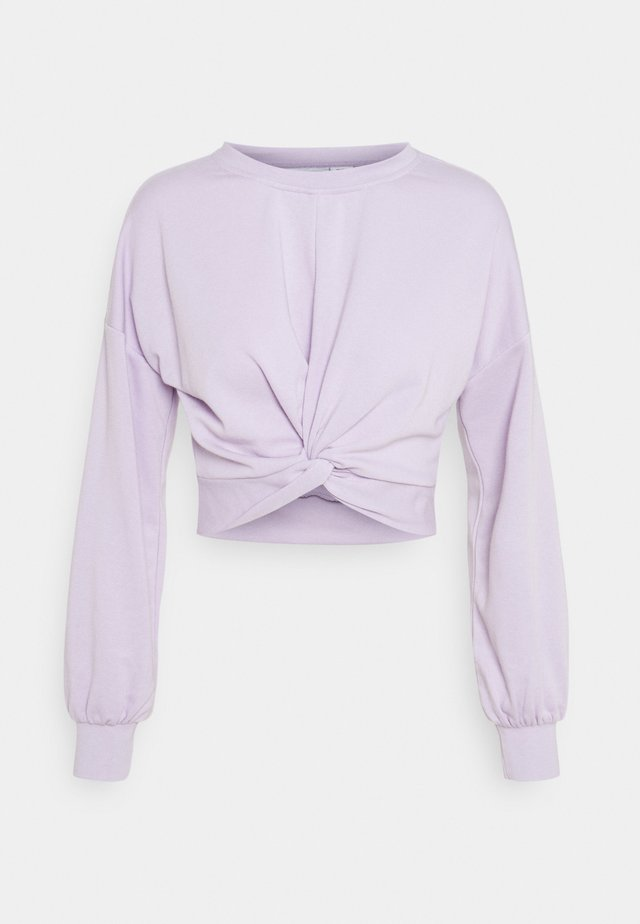 NMNERO TIE - Sweatshirt - pastel lilac