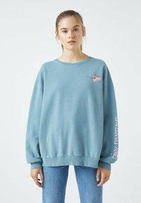 PULL&BEAR - Sweatshirt - blue - 0