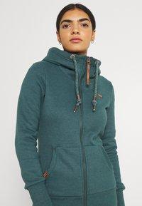 Ragwear - NESKA ZIP - Zip-up sweatshirt - dark green - 3