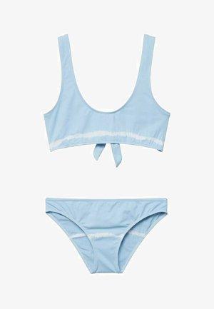 TIEDYE - Bikini - hemelsblauw