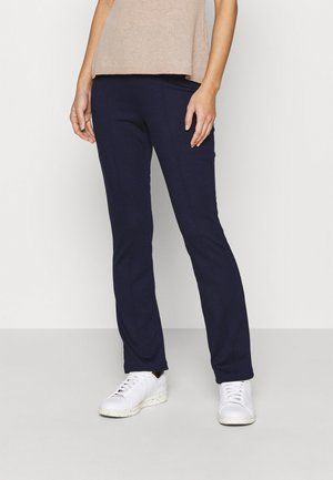 Punto Trouser with Seam Detail - Leggings - Trousers - dark blue