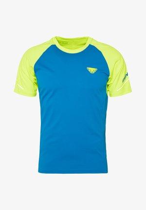 ALPINE PRO TEE - Camiseta estampada - fluo yellow