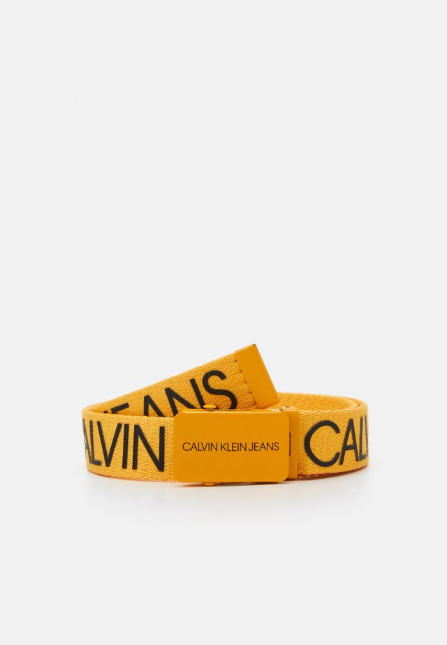 LOGO BELT UNISEX - Belt - yellow