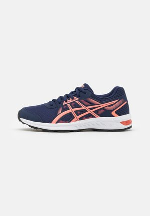 GEL-SILEO 2 - Neutral running shoes - peacoat/sun coral
