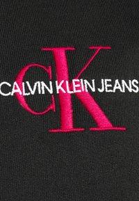 Calvin Klein Jeans - NEW ICONIC ESSENTIAL HOODIE - Sweatshirt - black - 6