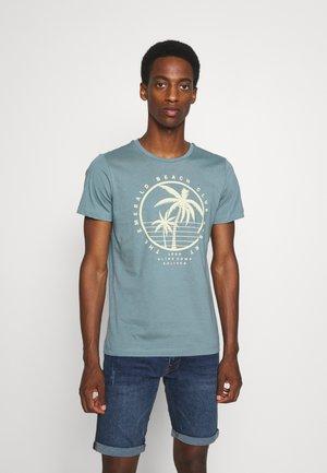 T-Shirt print - petrol