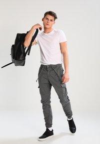 Urban Classics - JOGGING - Cargo trousers - darkgrey - 1
