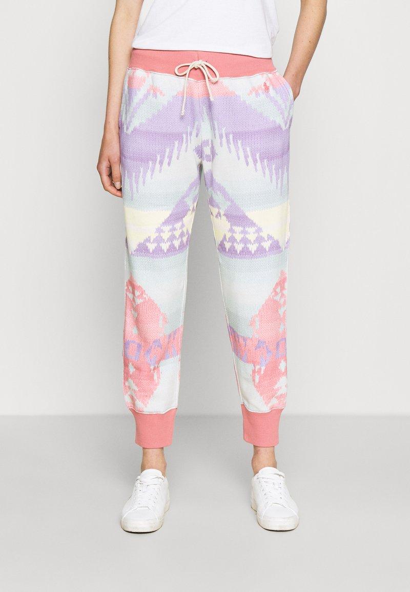 Polo Ralph Lauren - ANKLE ATHLETIC - Pantaloni sportivi - desert rose