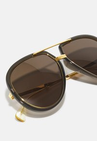 Gucci - UNISEX - Sunglasses - grey/gold-coloured/brown - 2
