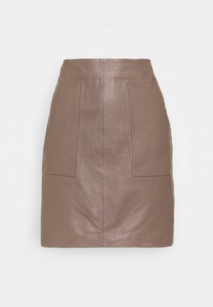 SLFMOON SKIRT   - Gonna di pelle - fossil