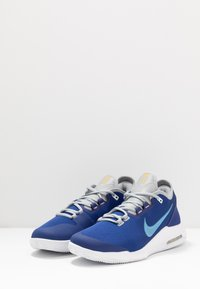 Nike Performance - COURT AIR MAX WILDCARD CLAY - Clay court tennis shoes - deep royal blue/coast/white - 2