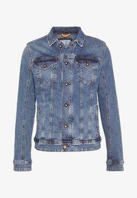 TOM TAILOR DENIM - STRETCH JACKET - Denim jacket - blue denim - 3