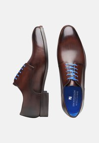 SHOEPASSION - NO. 5569 BL - Smart lace-ups - dark brown - 1