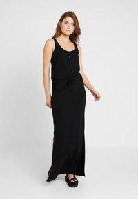 Object - OBJSTEPHANIE MAXI DRESS  - Maxi dress - black - 0