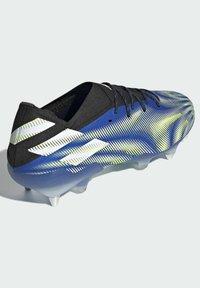 adidas Performance - NEMEZIZ.1 SG - Voetbalschoenen met kunststof noppen - blue - 3