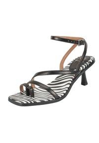 Ekonika - T-bar sandals - zebra-black - 6