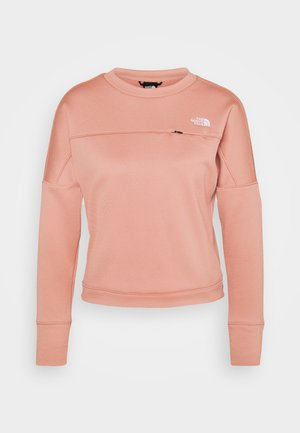 HIKESTELLER VANADIS - Fleece jumper - pink clay