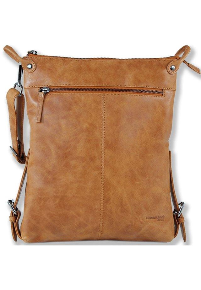 LIGHT  - Across body bag - braun