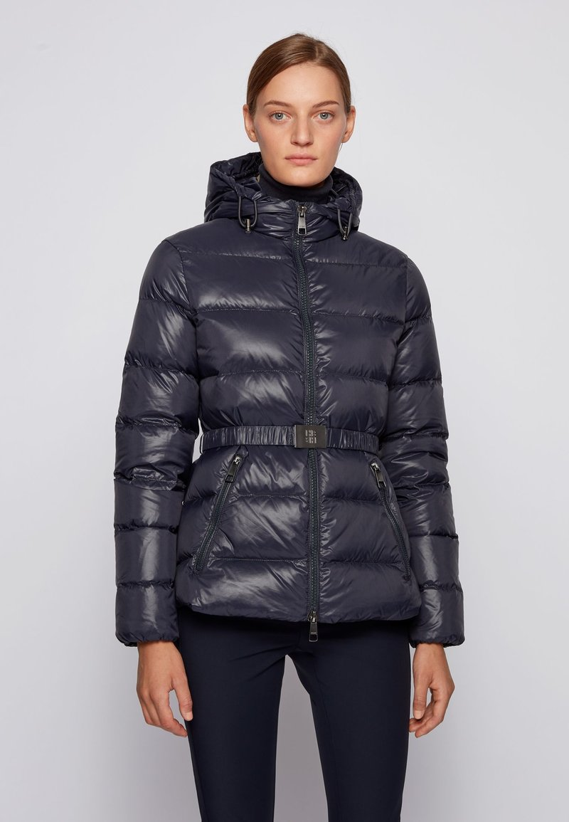 BOSS - PIPARATA - Down jacket - open blue