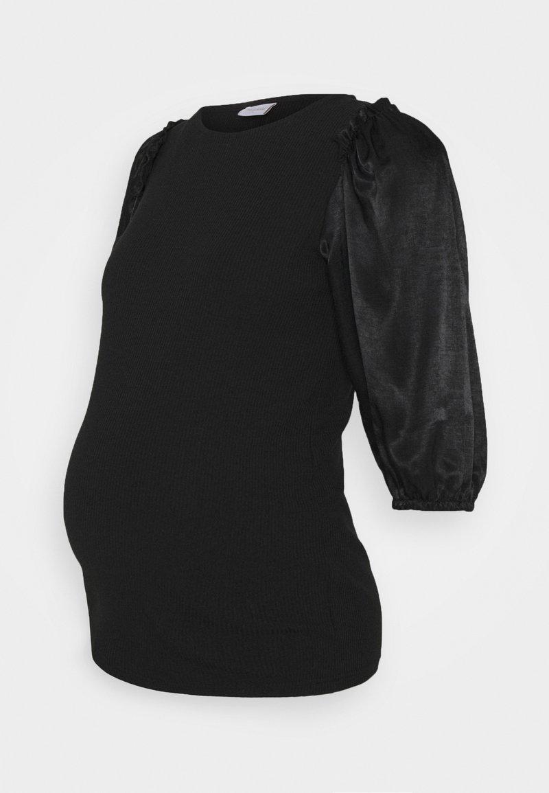 MAMALICIOUS - MLLEONIE - Print T-shirt - black