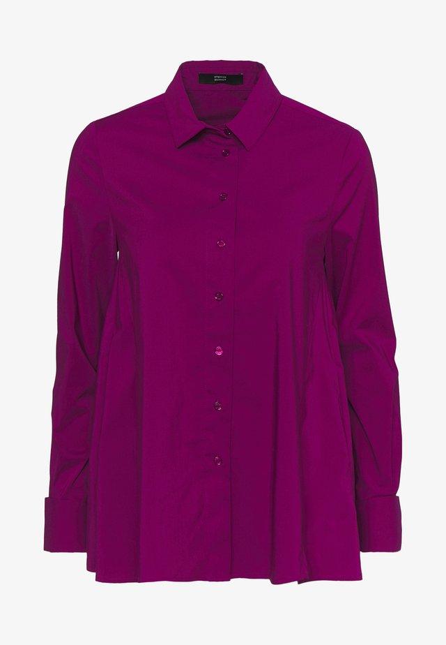 CLEMANDE URBAN - Button-down blouse - funky purple