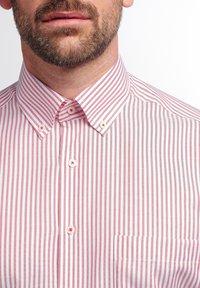 Eterna - COMFORT FIT - Shirt - rot/weiss - 2