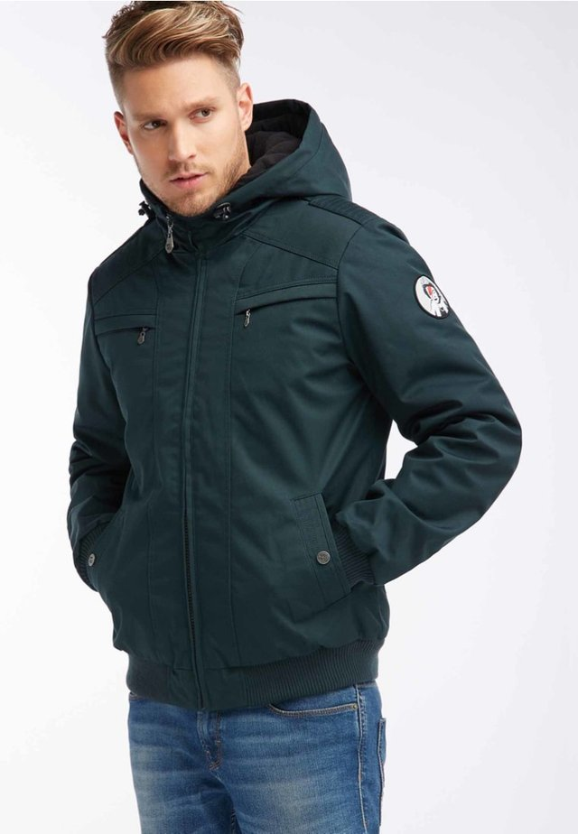 BRANDALISED BLOUSON - Kurtka zimowa - dark green