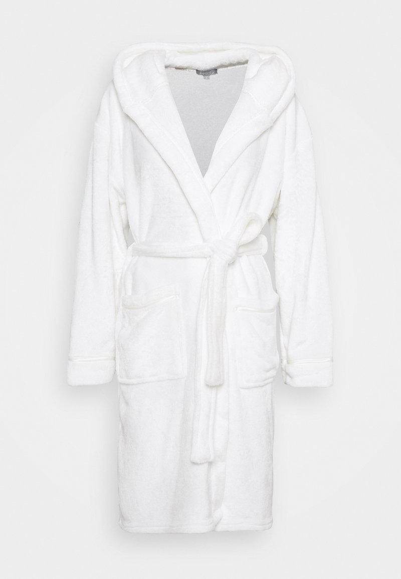 Loungeable - LUXURY HOODED ROBE  - Accappatoio - white