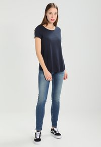 Tommy Jeans - LOW RISE SKINNY SOPHIE - Jeansy Skinny Fit - royal blue stretch - 1