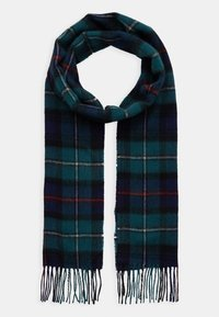 Barbour - NEW CHECK TARTAN SCARF - Scarf - blue - 1