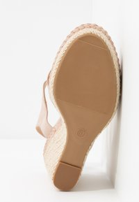 Anna Field - LEATHER - High heeled sandals - nude - 6