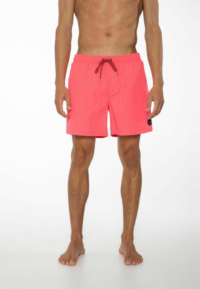 FASTER - Zwemshorts - fluor pink