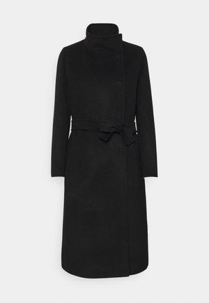 RADUNO - Classic coat - nero