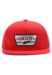 Vans - BY FULL PATCH SNAPBACK BOYS - Cap - high risk red - 3