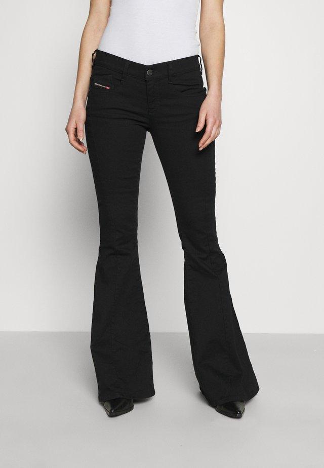 BLESSIK  - Jeans a zampa - black