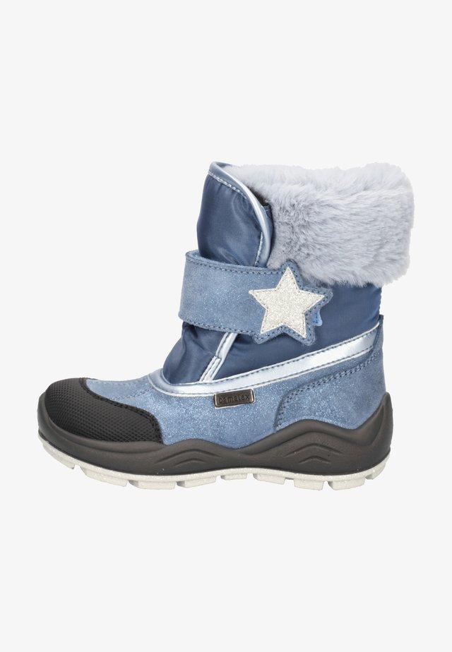 Winter boots - mittelblau