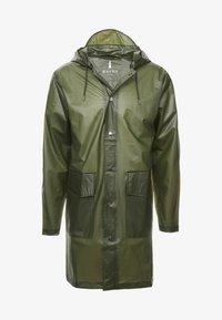 Rains - UNISEX HOODED COAT - Impermeable - foggy green - 5
