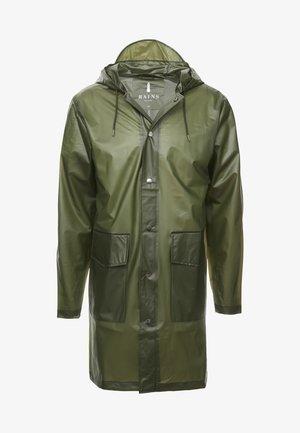 UNISEX HOODED COAT - Vodotěsná bunda - foggy green