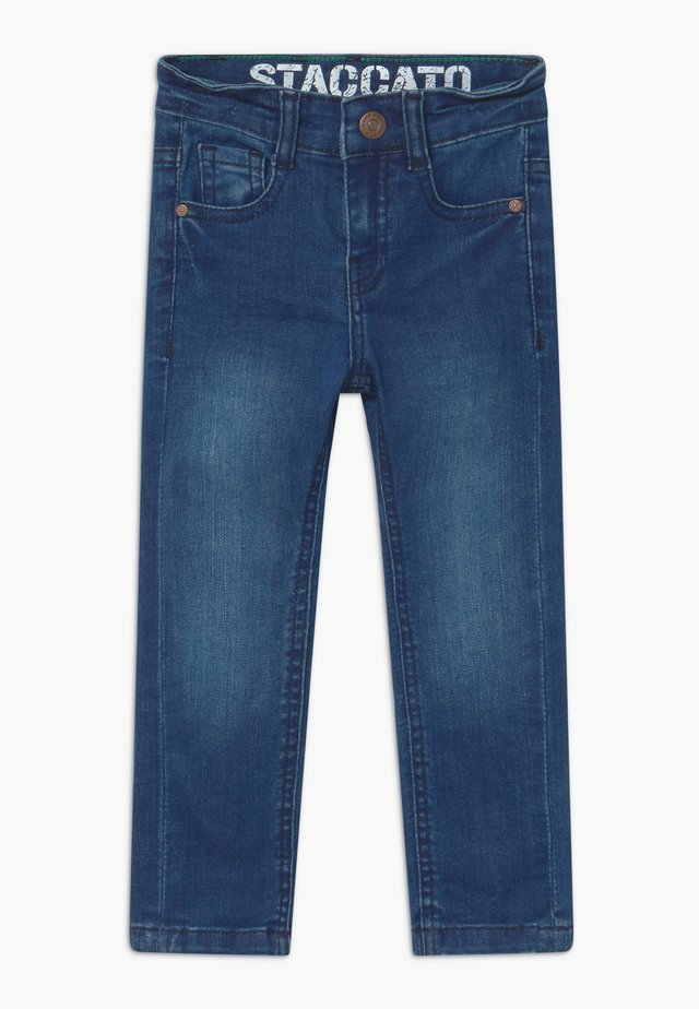 SKINNY KID - Skinny džíny - mid blue denim