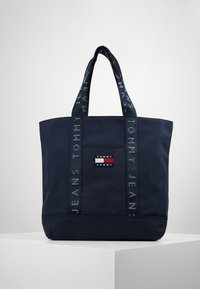 Tommy Jeans - HERITAGE TOTE - Tote bag - blue - 0