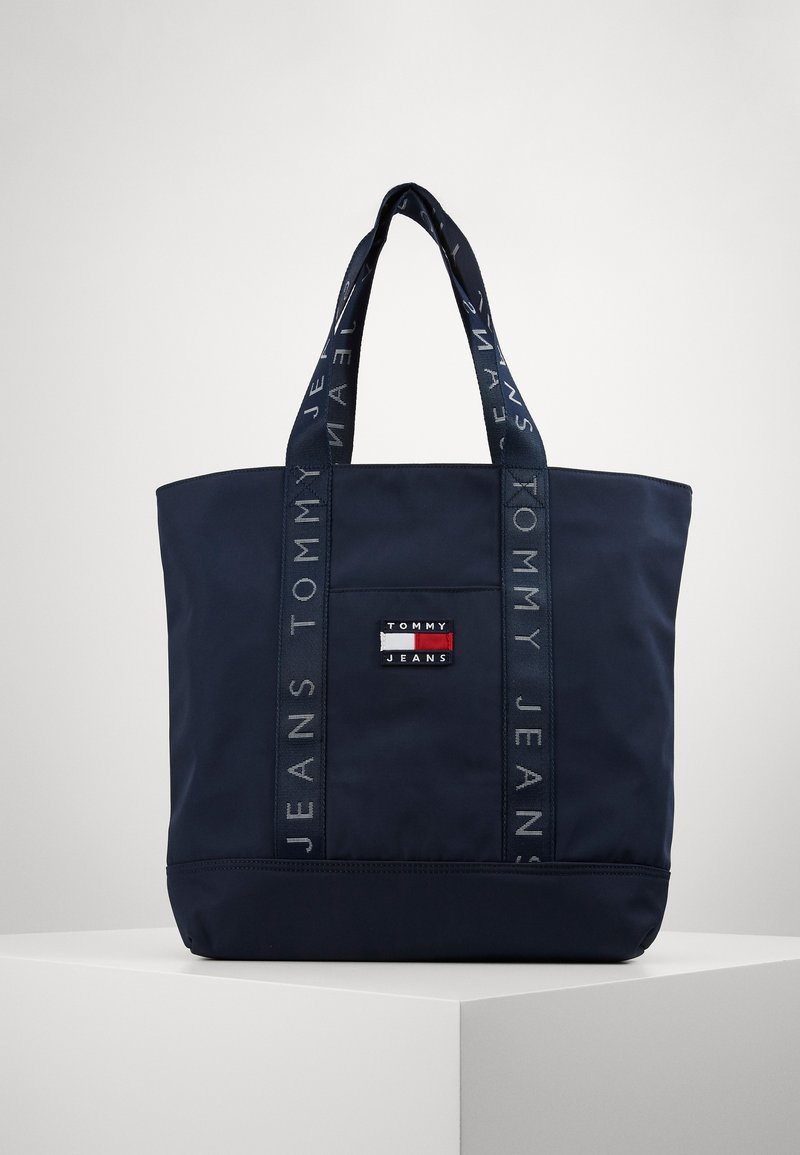 Tommy Jeans - HERITAGE TOTE - Tote bag - blue