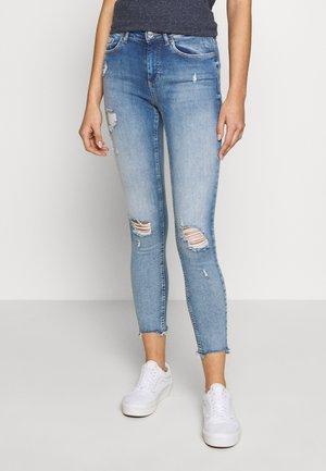 ONLBLUSH MID DETROY - Skinny džíny - light blue denim