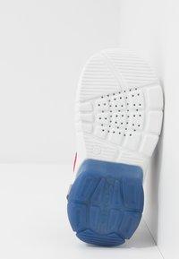Geox - FLEXYPER - Walking sandals - grey/red - 4